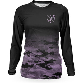Loose Riders C/S Longsleeve Jersey Dames, camo lilac